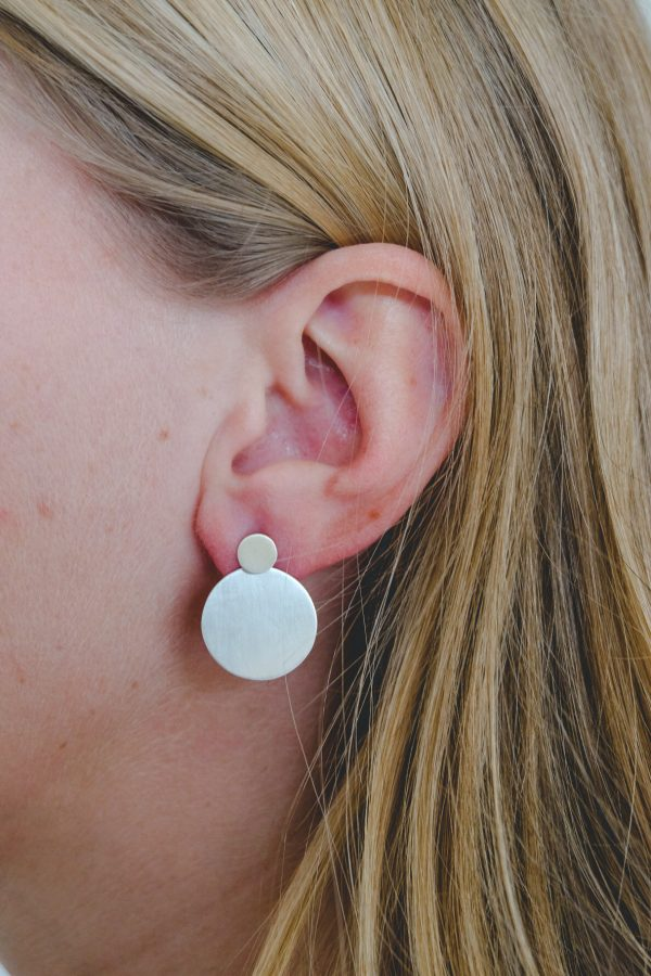 echt zilveren oorbellen