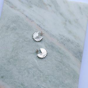 sunshine earrings zilver