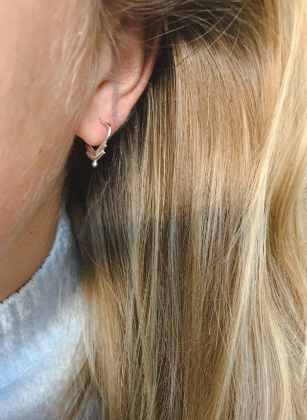 GOA earring_zilver