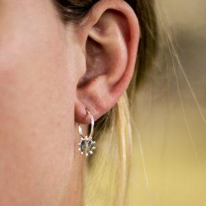 Bobby earring - zilver